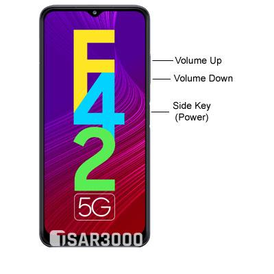 Samsung Galaxy F42 5G Hardware Buttons