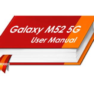 Samsung Galaxy M52 5G User Manual PDF File Download