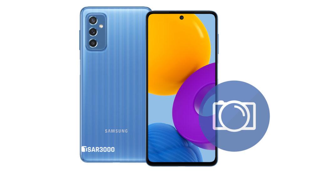 Take Screenshot Samsung Galaxy M52 5G